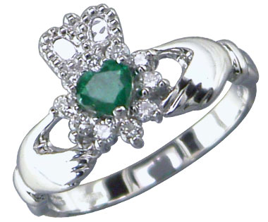 The Claddagh Ring : Wearing & Meaning (1/2)