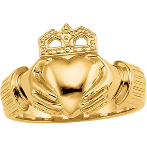 The Claddagh Ring : Wearing & Meaning (2/2)