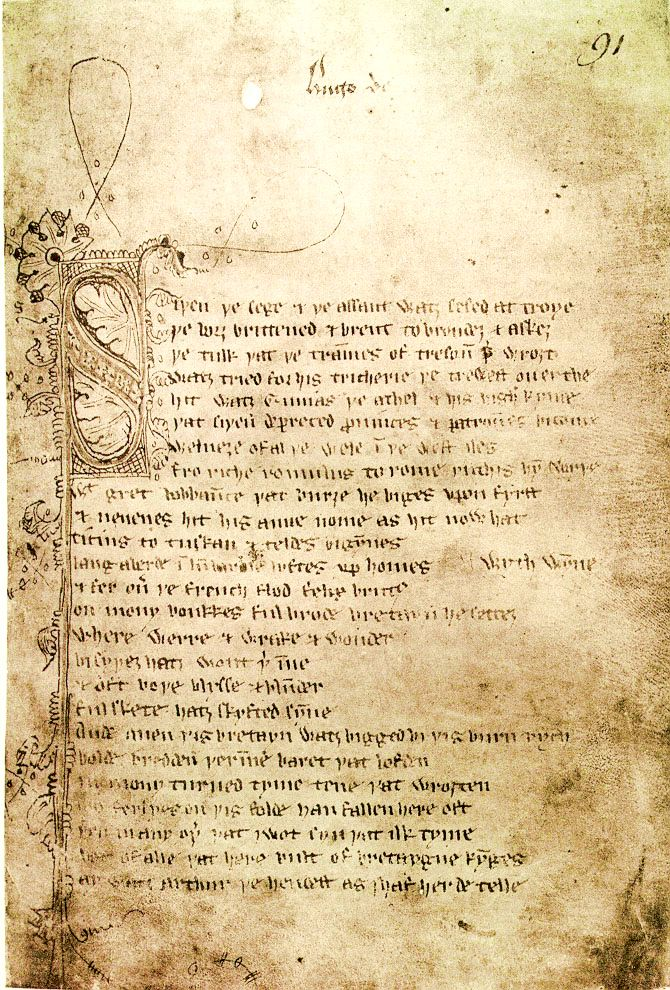 """>Celtic Symbolism : """"The Pentacle"""" on the Medieval Poem """"Sir Gawain and the Green Knight"""" (2/2)"""